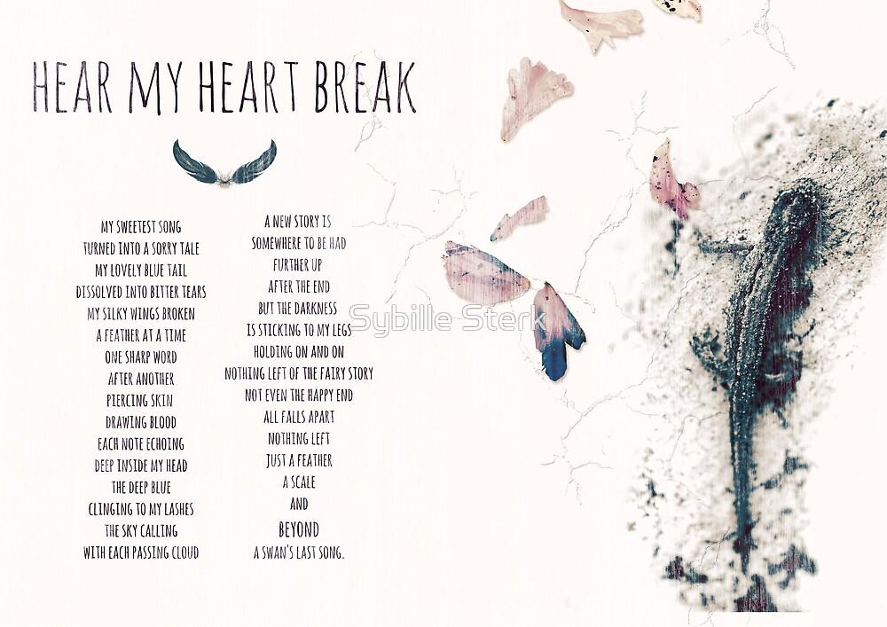 Hear My Heart Break (illustration) by Sybille Sterk