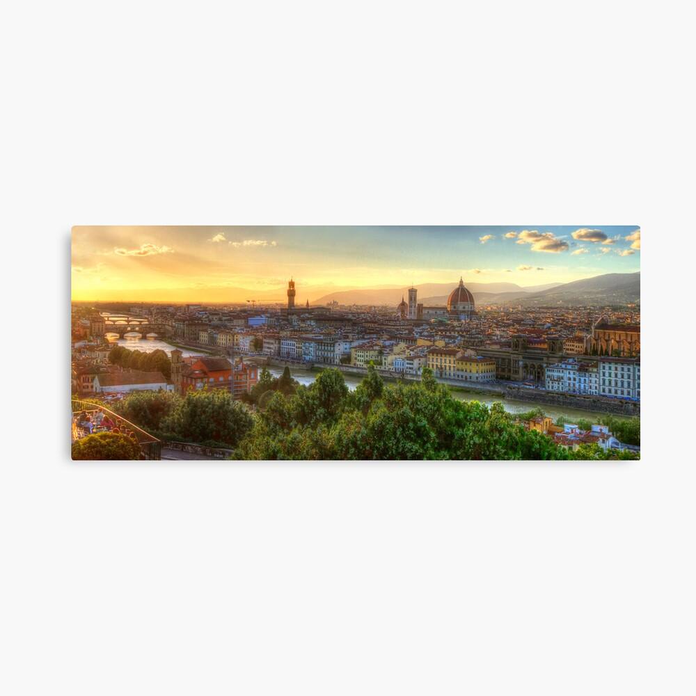 Florence Sunset Leinwanddruck