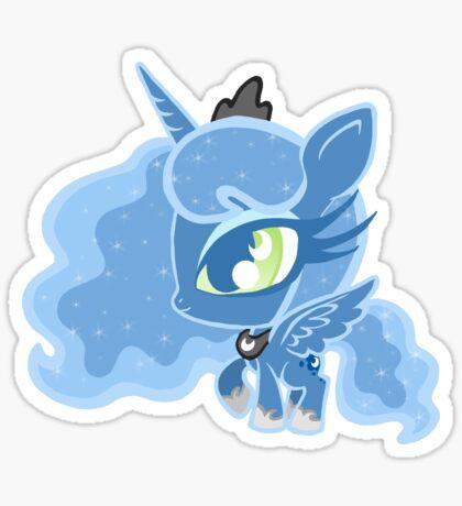 Weeny My Little Pony- Princess Luna Sticker