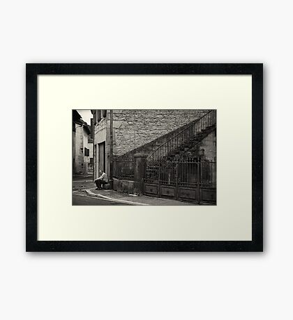 Old man Cerdon Framed Print