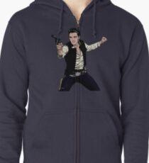 Han Elvis Solo Zipped Hoodie