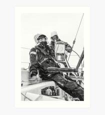 Sailing at it's best Art Print