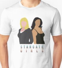 "Stargate - Sam & Vala ""Stargate Girls"" T-shirt.  T-Shirt"