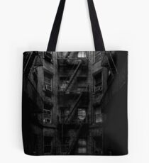 Escape Stairs Tote Bag
