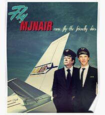 Vintage MJN Poster