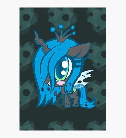 Weeny My Little Pony- Queen Crysalis Photographic Print