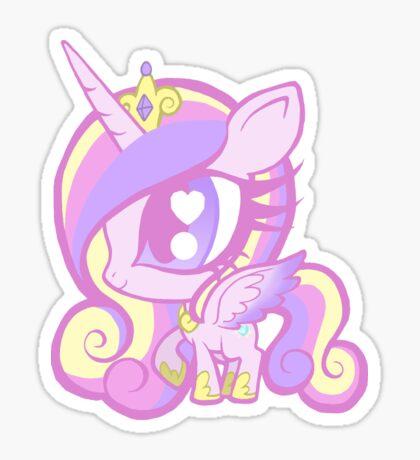 Weeny My Little Pony- Princess Cadence Sticker