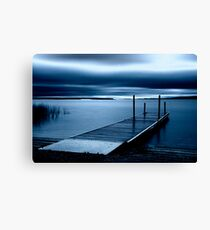 Blue Dawn - Leech Lake, MN Canvas Print