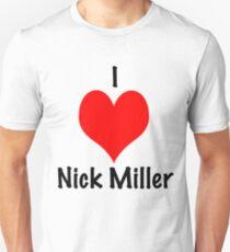 I Love Nick Miller Slim Fit T-Shirt