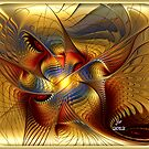 GOLDEN DANCING DRAGON by BuddhaKat