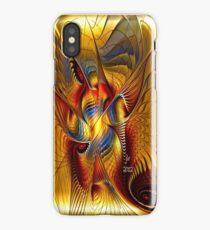 GOLDEN DANCING DRAGON iPhone Case/Skin