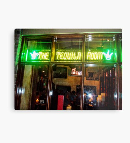 THE TEQUILA ROOM Metal Print
