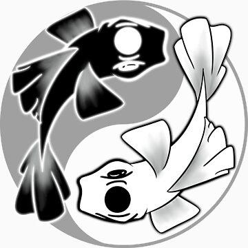 Yin Yang Koi by FeranmiQ