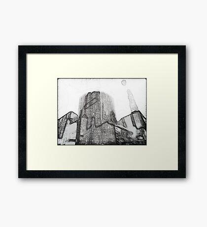 Facades #3 Framed Print
