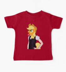Applejack woman Baby Tee