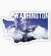 Washington - Mount St. Helens Sticker