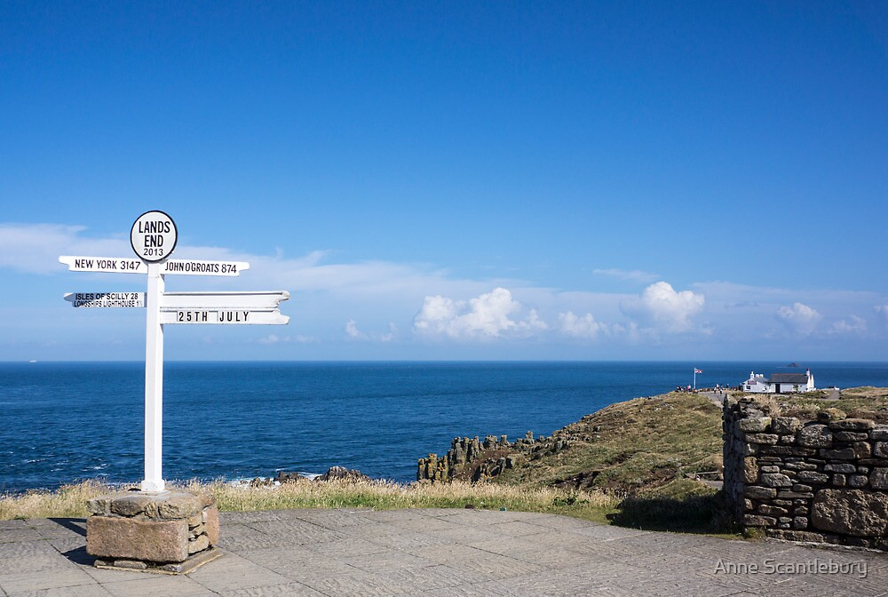 signpost by Anne Scantlebury