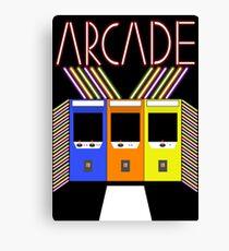 Arcade Canvas Print