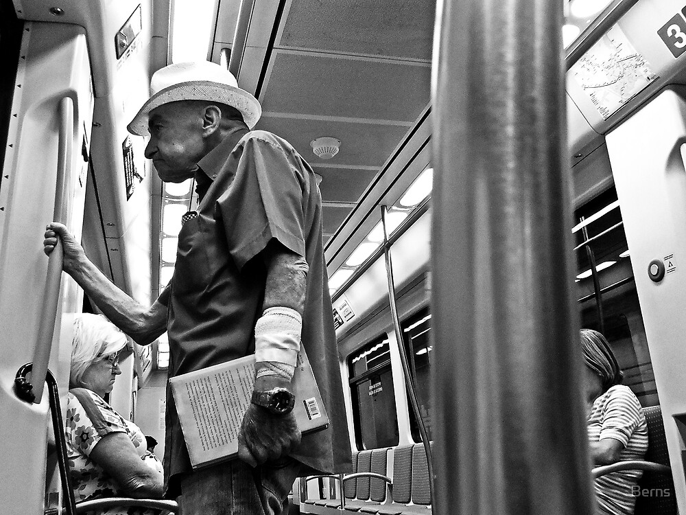 On the Metro by Berns