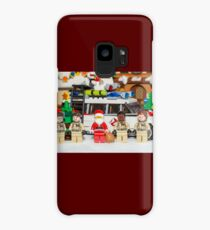 Santa and the Ghostbusters Case/Skin for Samsung Galaxy