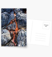 Fire and Ice Postcards