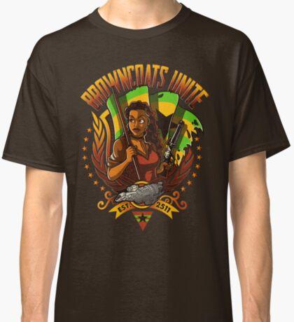 BROWNCOATS UNITE Classic T-Shirt