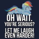 You're Serious?  (My Little Pony: Friendship is Magic) by broniesunite