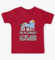 You're Serious?  (My Little Pony: Friendship is Magic) Kids Tee