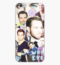 chris pine collage iPhone-Hülle & Cover