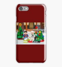 Mcfly Brown Xmas iPhone Case/Skin