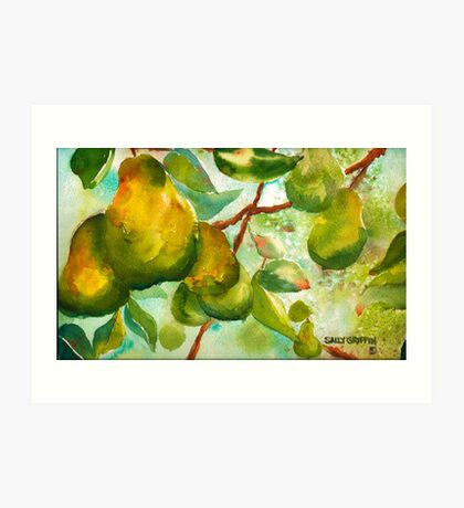 Pear Season Art Print