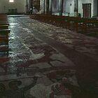 Mosaic floor Duomo 1674 Otranto 1163 19840402 0018  by Fred Mitchell