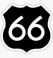 Route 66 Ideology Sticker