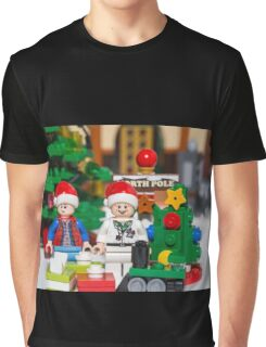 Doc and Marty North Pole Graphic T-Shirt