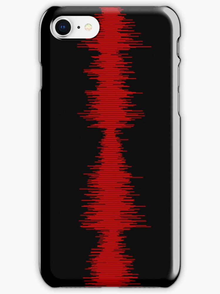 Waveform - Red and Black by 319media