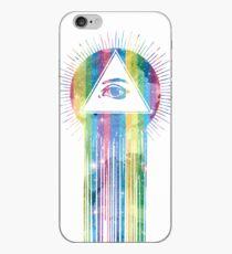 rainbow eye bleed iPhone-Hülle & Cover