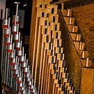 ORGAN PIPES 1 by Rebecca Dru