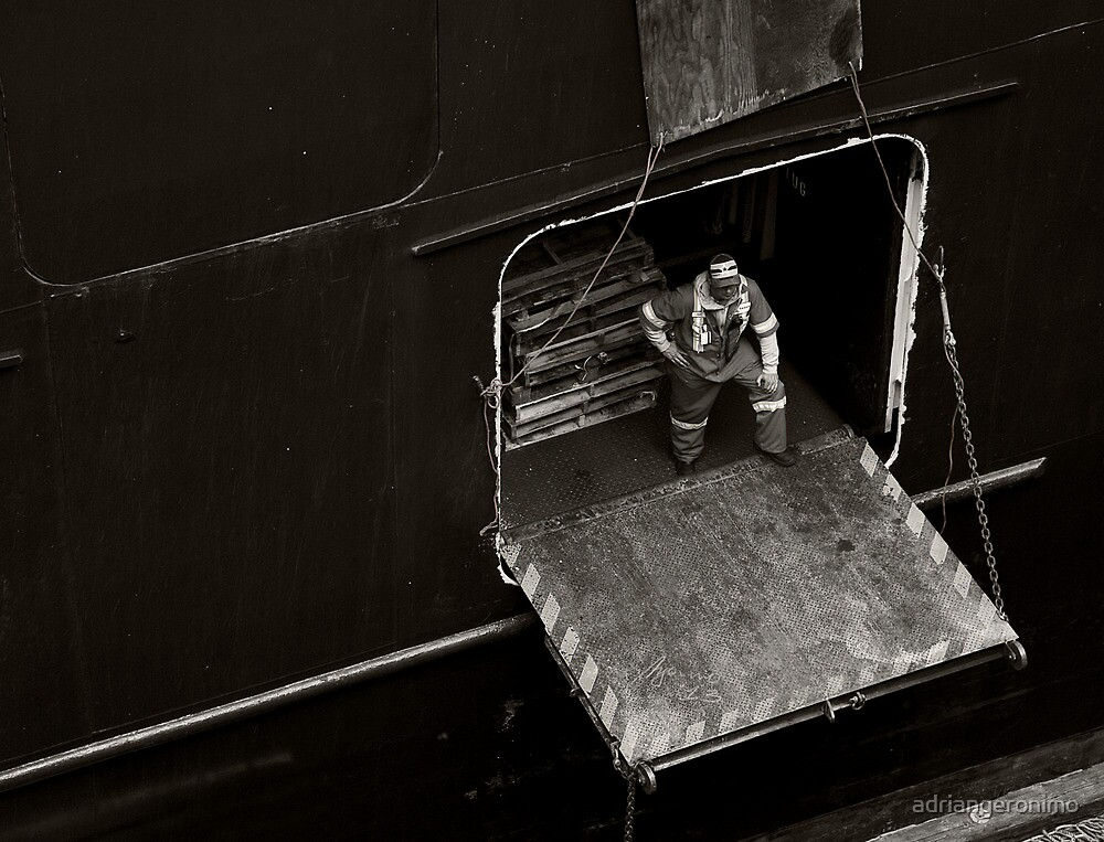 Deck Hand by adriangeronimo
