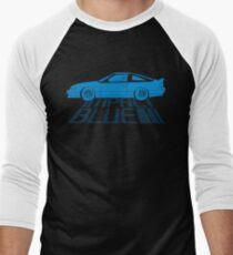 Impact Blue Men's Baseball ¾ T-Shirt