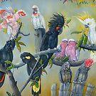Cockatto family  by owen  pointon