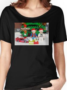 Marty and Doc get gifts Women's Relaxed Fit T-Shirt