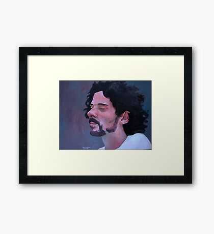 Study for Reuben Framed Print