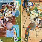 Picasso Complex Duel. by Andy Nawroski