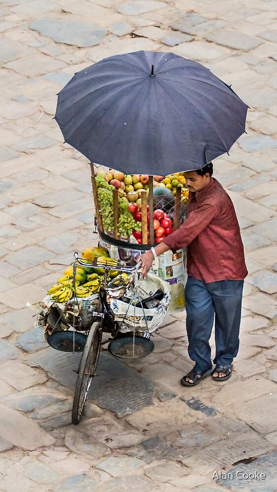 Fruit Seller  by Alan Robert Cooke