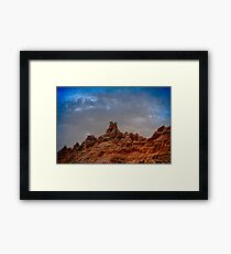 Ravages of Time and Weather Framed Print