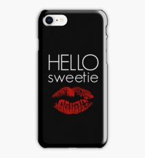 Hello, Sweetie iPhone Case/Skin