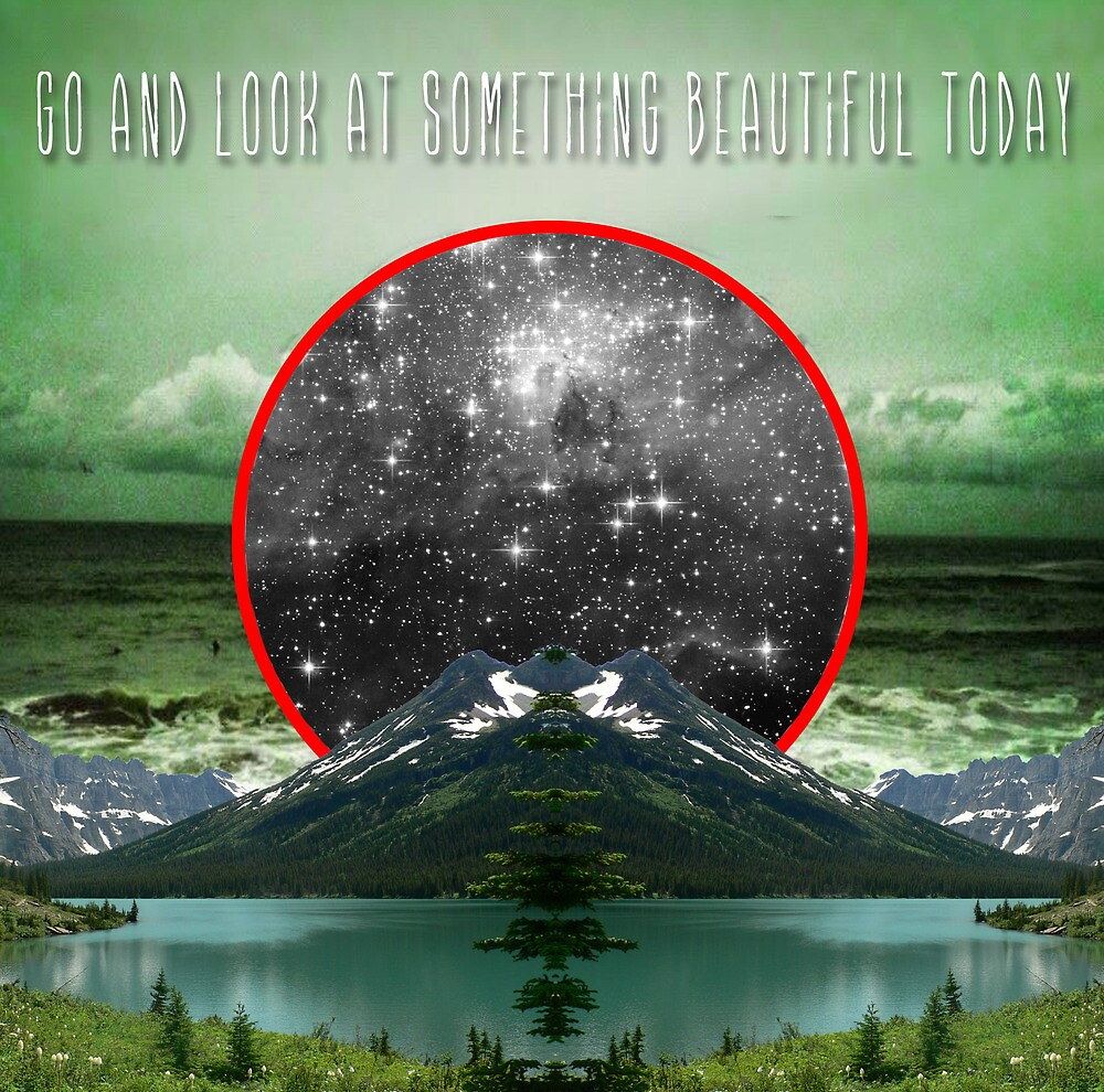 Go and look at something beautiful today by ShaneThompson
