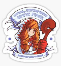 Loyal, Determined White Mage Sticker