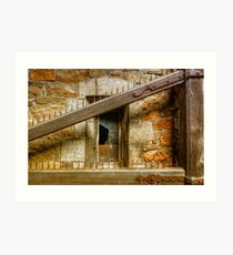 The Old Gate - Chaudfontaine, Belgium Art Print