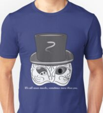 Mask-a-rade t-shirt Unisex T-Shirt